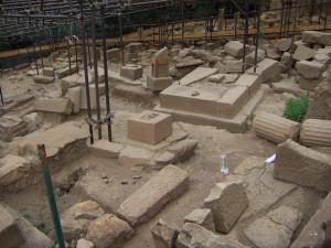 Necropoli di Abacaenum - Scavi archeologici (2005 - foto A.Teramo)
