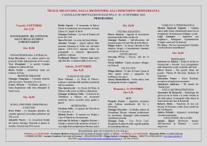 Programma convegno Sicilia Millenaria